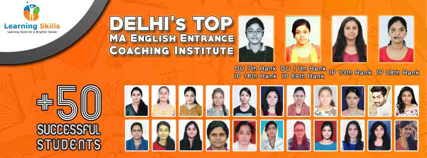 Delhi's Top MA English Entrance Coaching