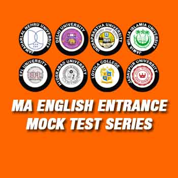 MA English Entrance Mock Test Series