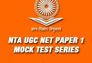 NTA UGC NET Paper 1 Test Series